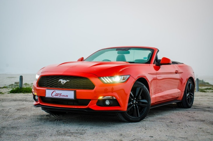Ford Mustang 2 3 EcoBoost Convertible Automatic (2016) Review - Cars