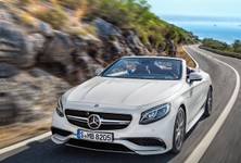 Mercedes Benz S63 AMG Cabriolet 2017 1280 01