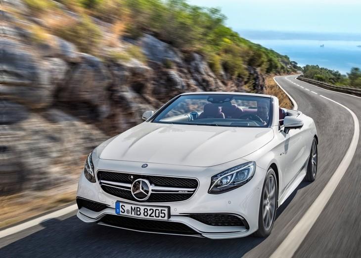 Mercedes Benz S63 AMG Cabriolet 2017 1280 01