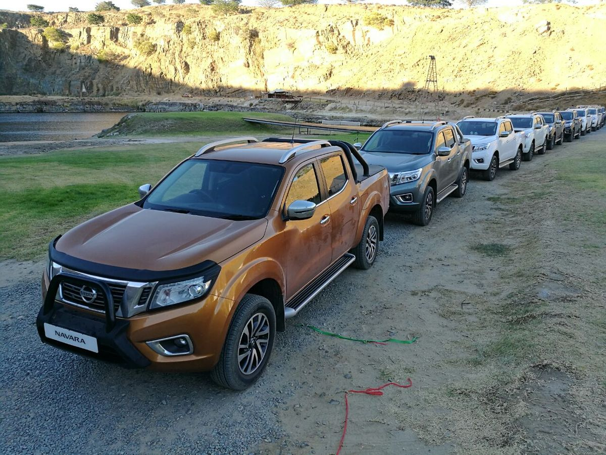 the eagerly awaited nissan navara is now available in south africa the launch line up comprises a trio of well specified 4x4 derivatives available in 2