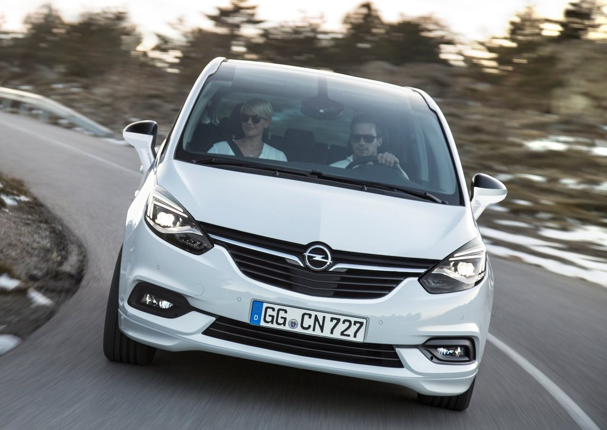 all new opel zafira announced. Black Bedroom Furniture Sets. Home Design Ideas