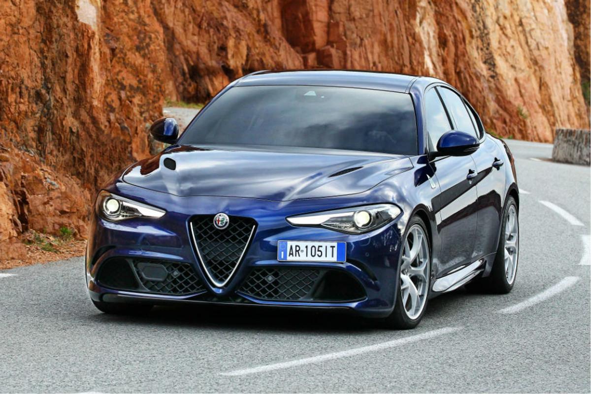 Updated Alfa Romeo Giulia Quadrifoglio 2016 First