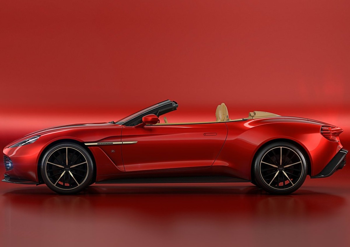 Aston Martin Vanquish Zagato Volante Shown Cars Co Za