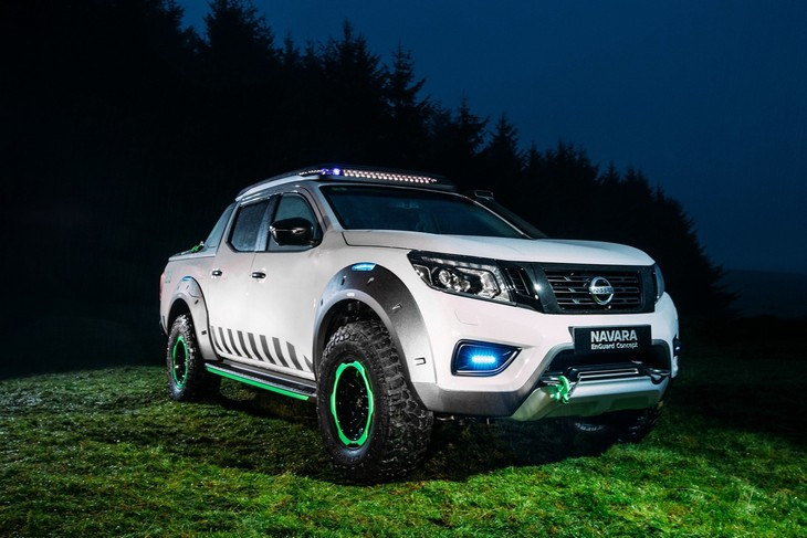 Nissan Navara Enguard Concept With Video Cars Co Za