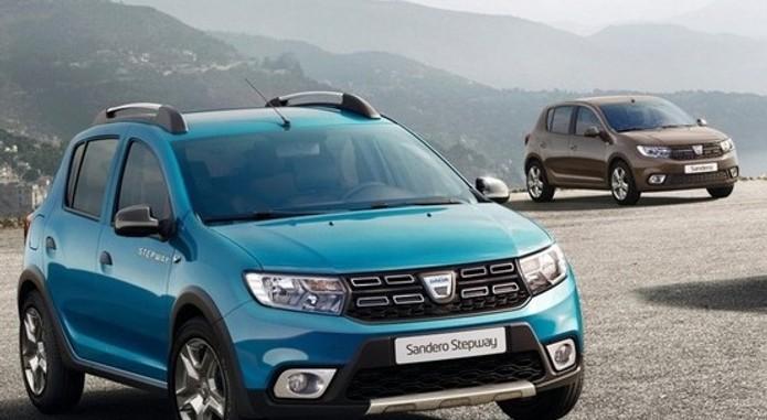 Dacia Logan Sandero Facelift