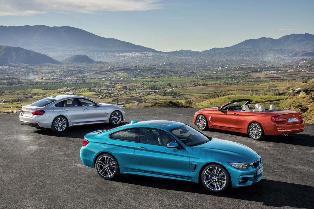 The BMW 4 Series Coupe Convertible Gran And M4 Have Received Minor Exterior Interior Technological Updates