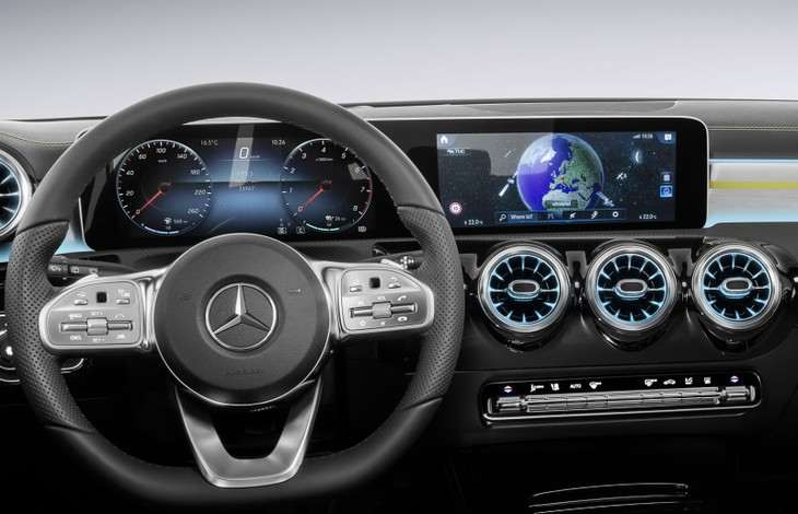 Update: New Mercedes-Benz A-Class Interior Revealed - Cars co za