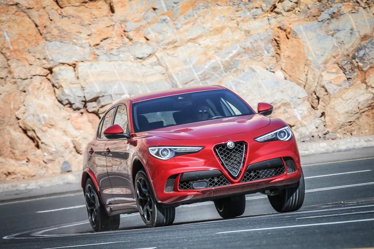 Alfa Romeo Stelvio Quadrifoglio 2019 International Launch Review