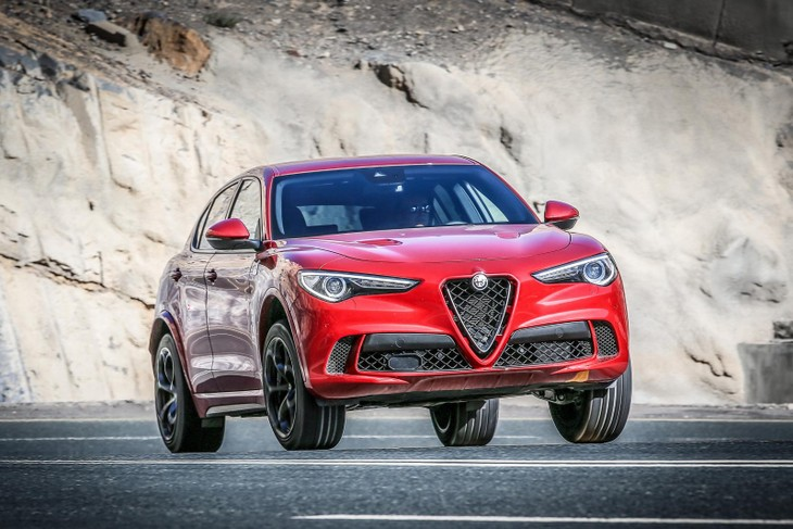 alfa romeo stelvio quadrifoglio (2019) international launch review