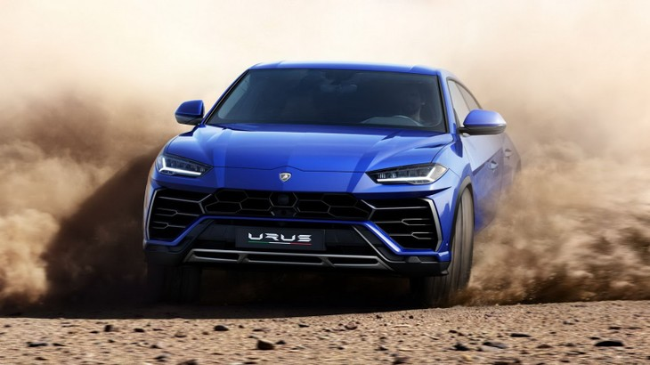 Lamborghini Urus Super Suv Revealed W Video Cars Co Za