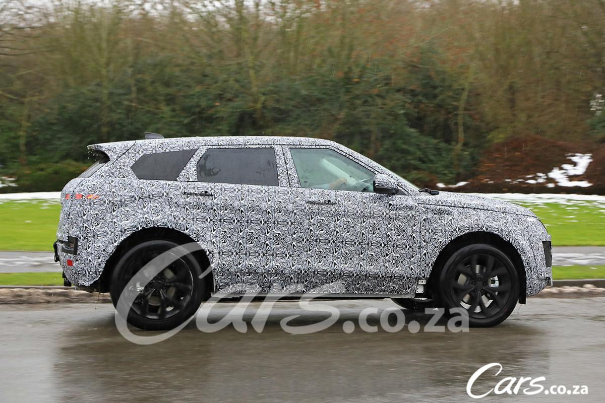 Spy Shots New Range Rover Evoque Cars Co Za