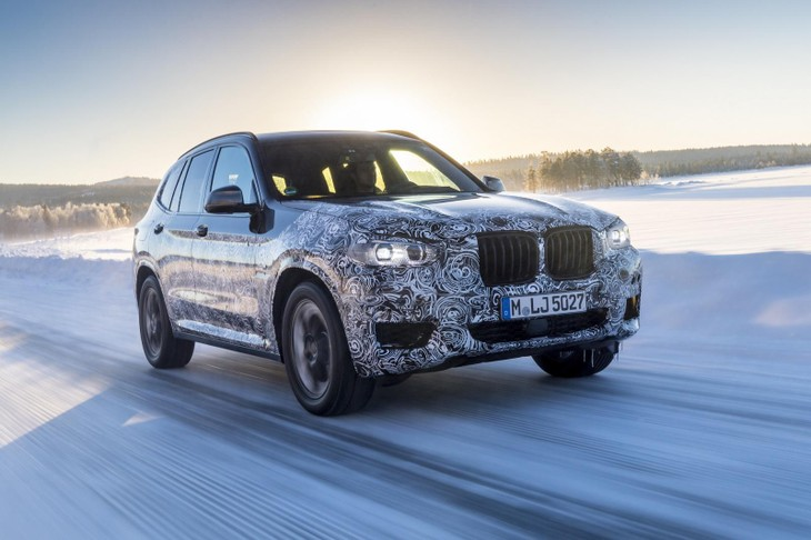 2018 BMW X3 G01 New Spy Shots And Official Release Date >> Spy Shots Next Bmw X3 With Video Cars Co Za