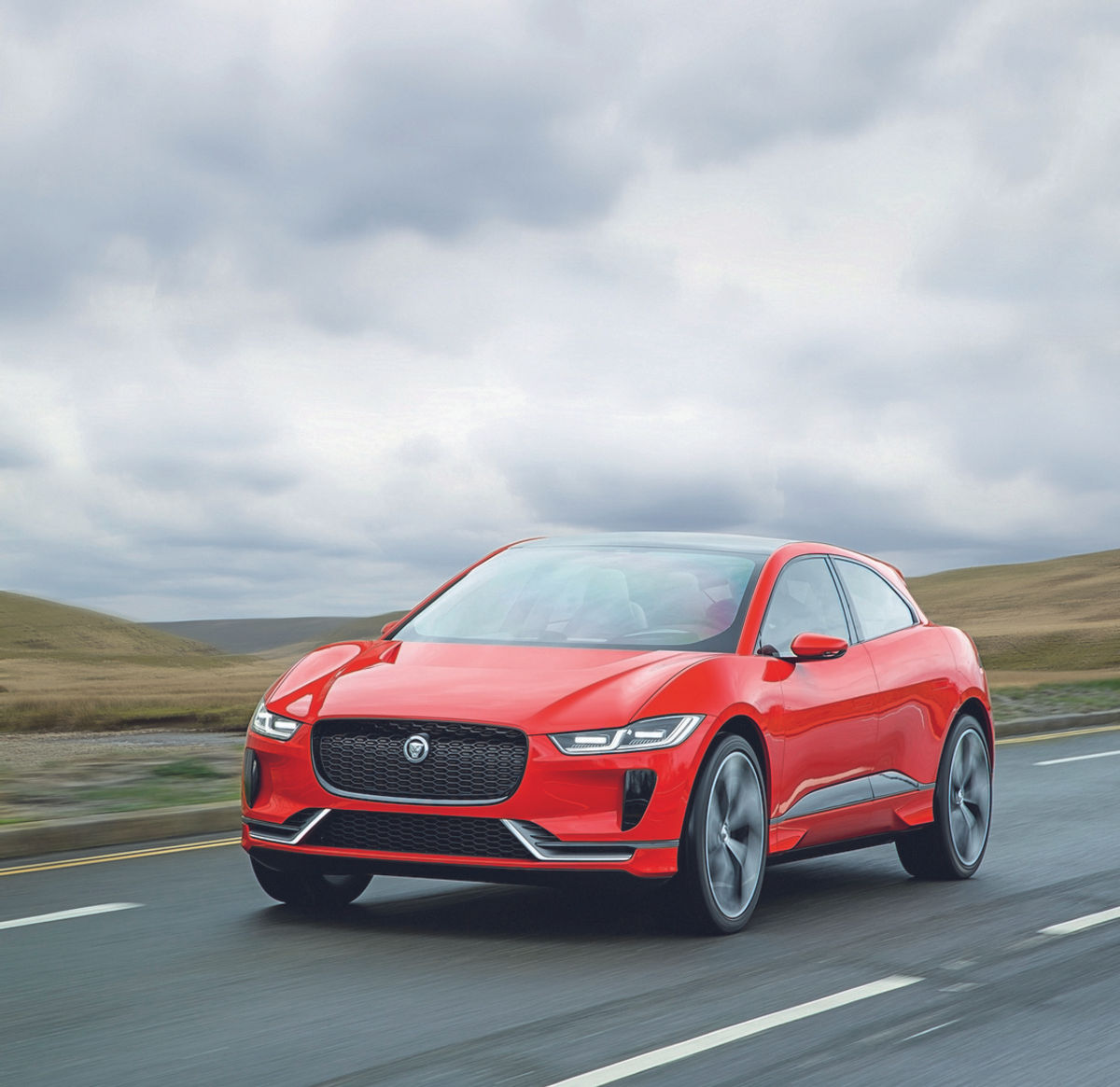 The New Jaguar: Jaguar I-Pace Concept (2018) International First Drive