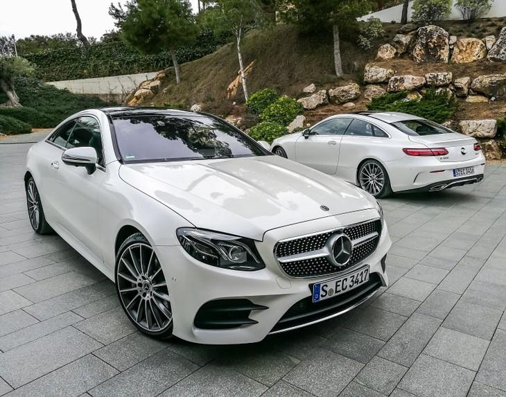 Mercedes Benz E Class Coupe 2017 International First Drive