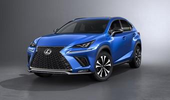 Lexus NX Facelift 1