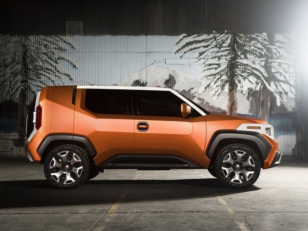 2018 Toyota FT-4X: Is It FJ Cruiser's Succesor Or Not >> Toyota Reveals Ft 4x Concept Cars Co Za
