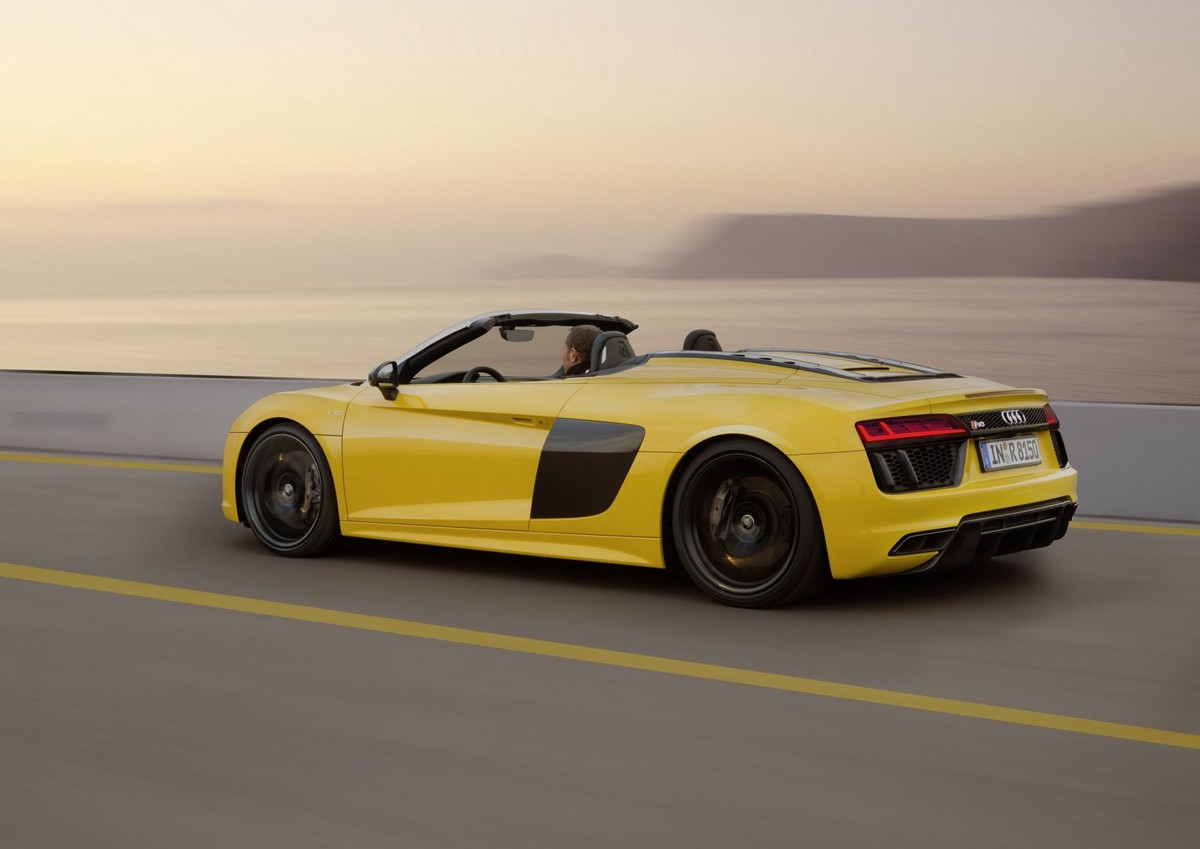 audi r8 spyder v10 (2017) specs & price - cars.co.za
