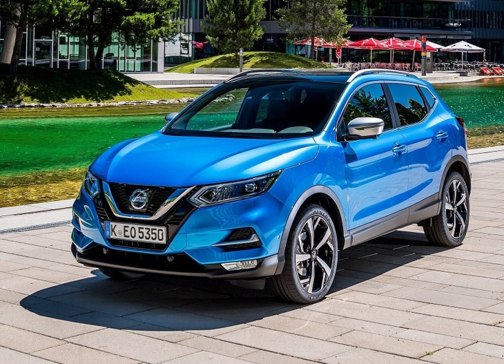 Nissan Qashqai Colours 2018 >> First Look: Facelifted Nissan Qashqai - Cars.co.za