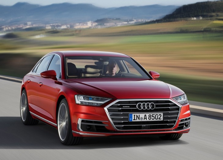 Audi A Revealed With Video Carscoza - Audi a8 2018
