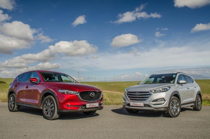 Comparative Review: Mazda CX-5 2 2DE AWD Akera vs Hyundai