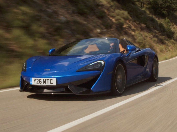 Mclaren 570s Spider 2107 Launch Review Video Cars Co Za