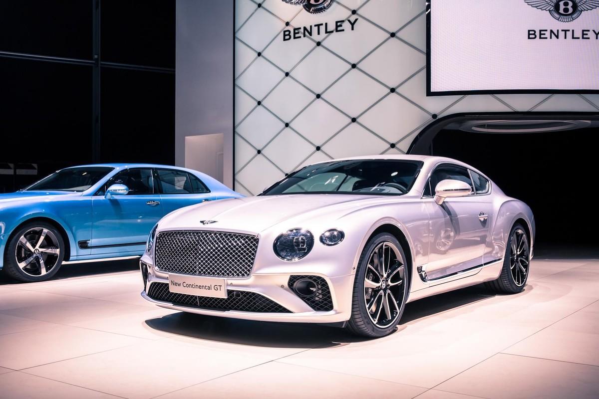 All New Bentley Continental Shown In Frankfurt Cars Co Za