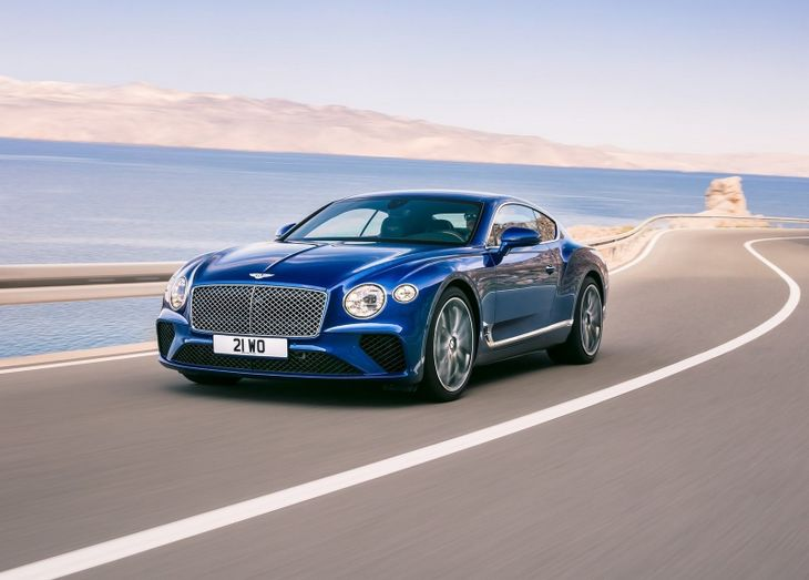 All New Bentley Continental Shown In Frankfurt Cars