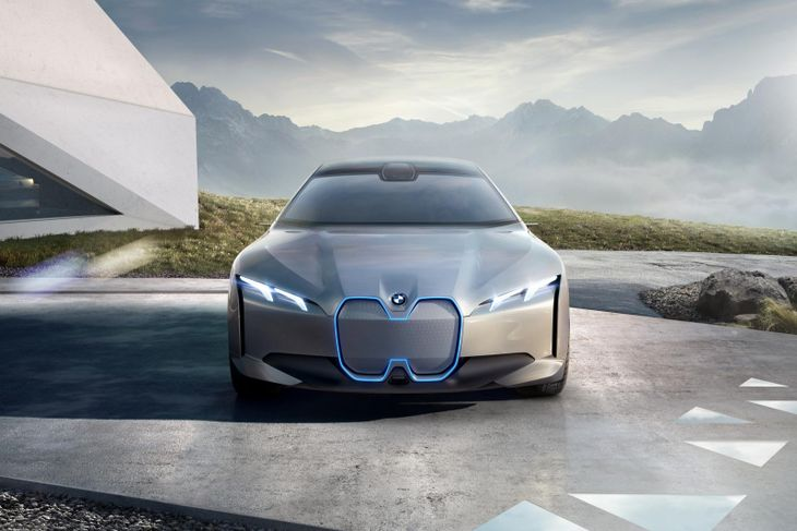Bmw Previews I5 With I Vision Dynamics Concept Cars Co Za
