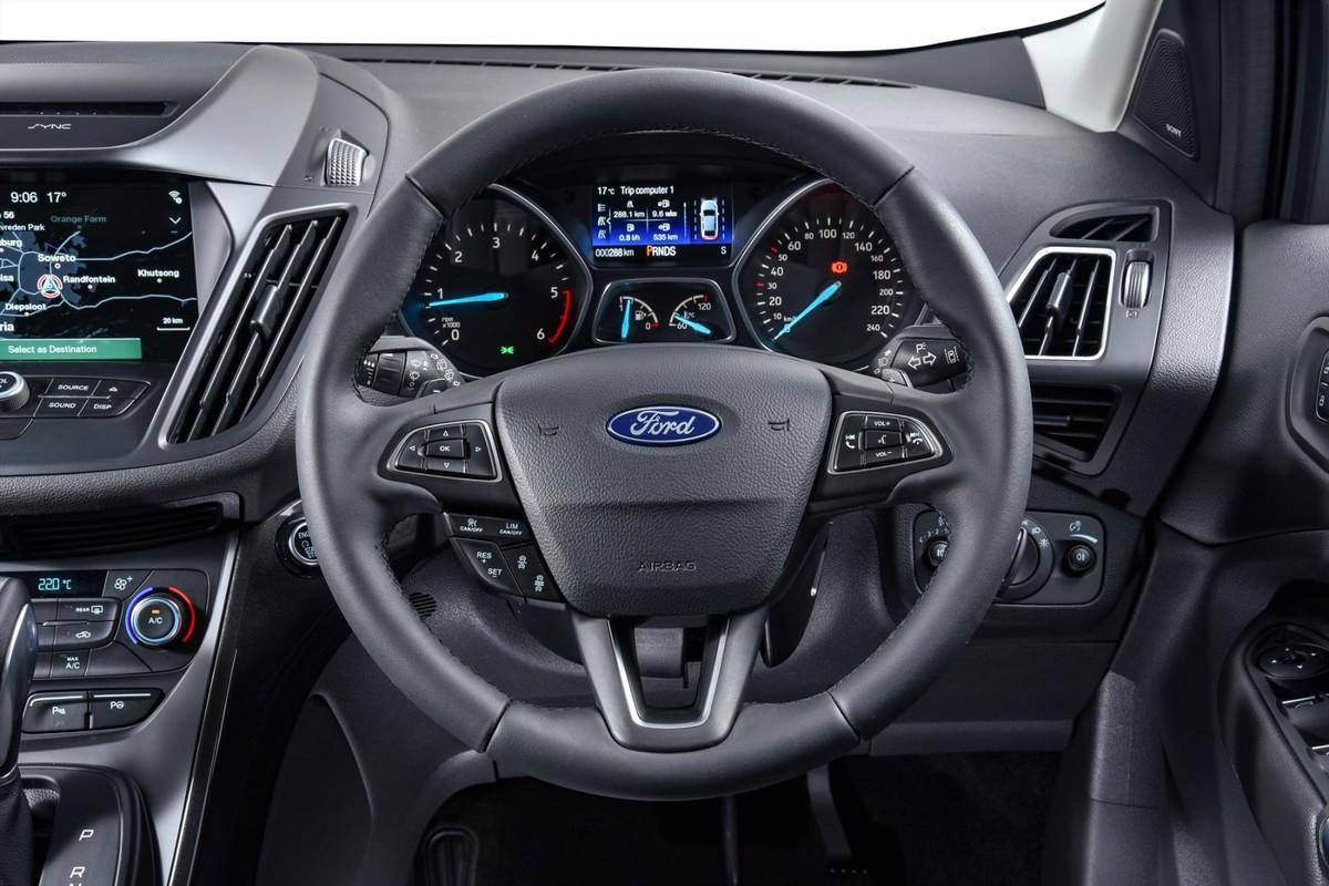 Ford new kugasteering