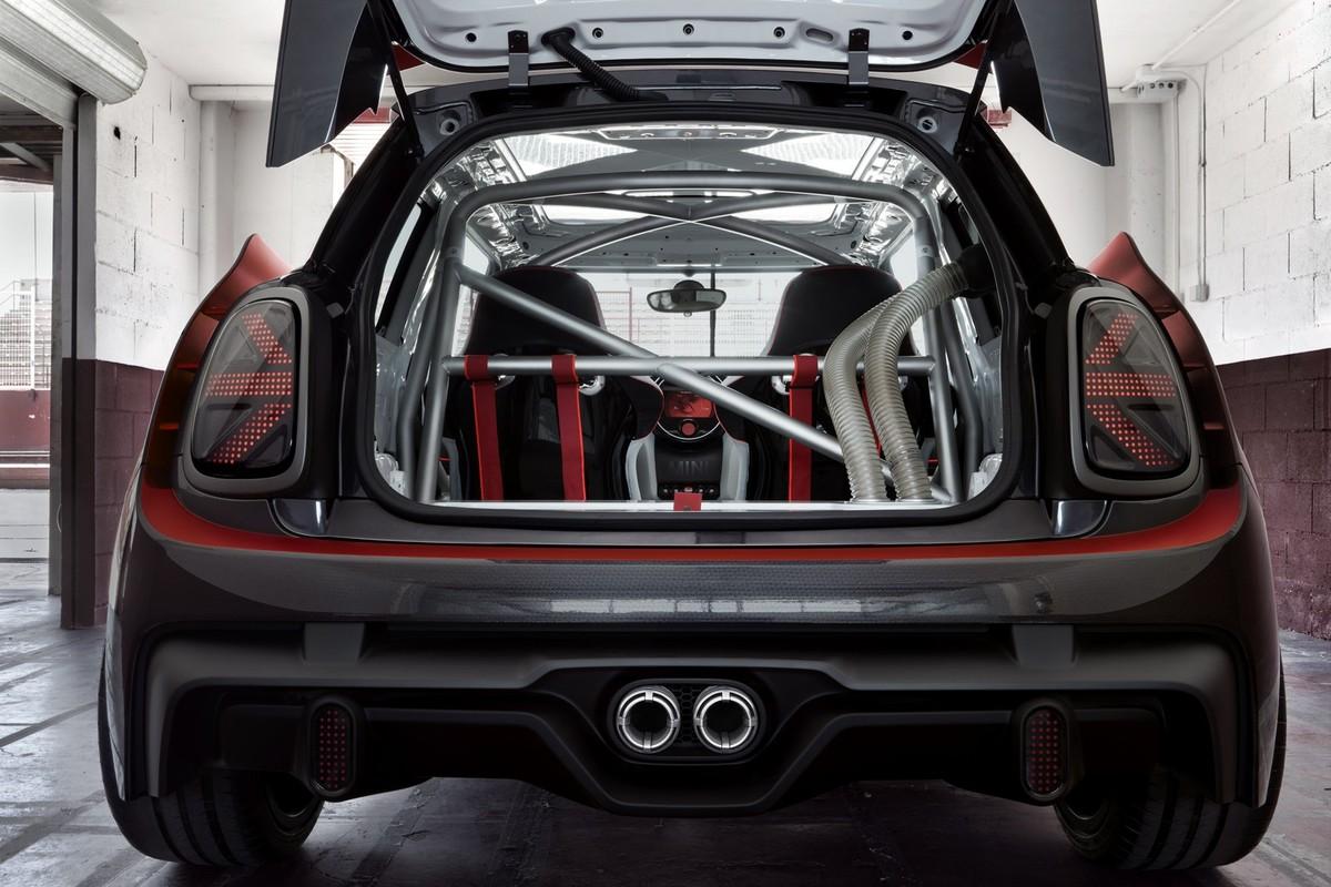 Red Hot Mini Jcw Gp Concept Unveiled Carscoza