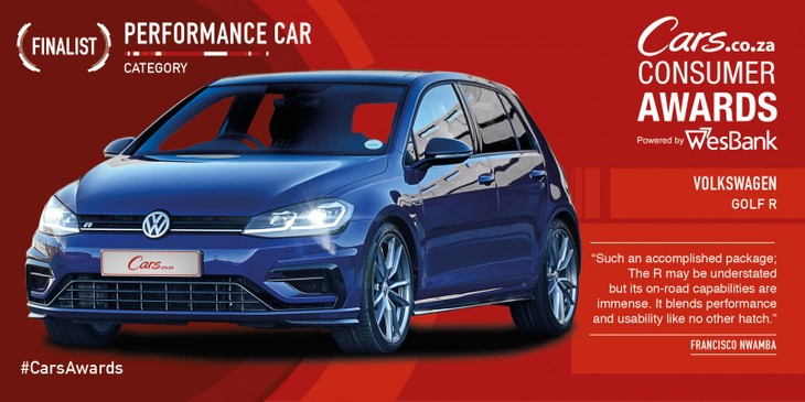 3 Reasons Why Volkswagen Golf R is #CarsAwards Finalist - Cars co za