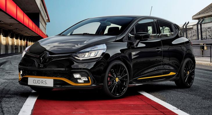 limited edition renault clio rs 18 coming to sa - cars.co.za