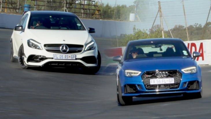 Will It Drift Audi Rs3 And Mercedes Amg A45 Carscoza