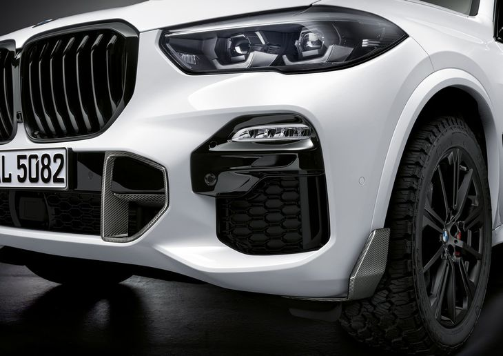 319e10a2e6c The latest M Performance catalogue has been expanded to include the X5.  Note offroad tyres and carbon fibre detailing. Interestingly