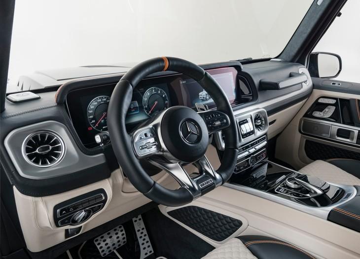 Brabus G Wagon >> Brabus Unleashes Monster G Class Cars Co Za