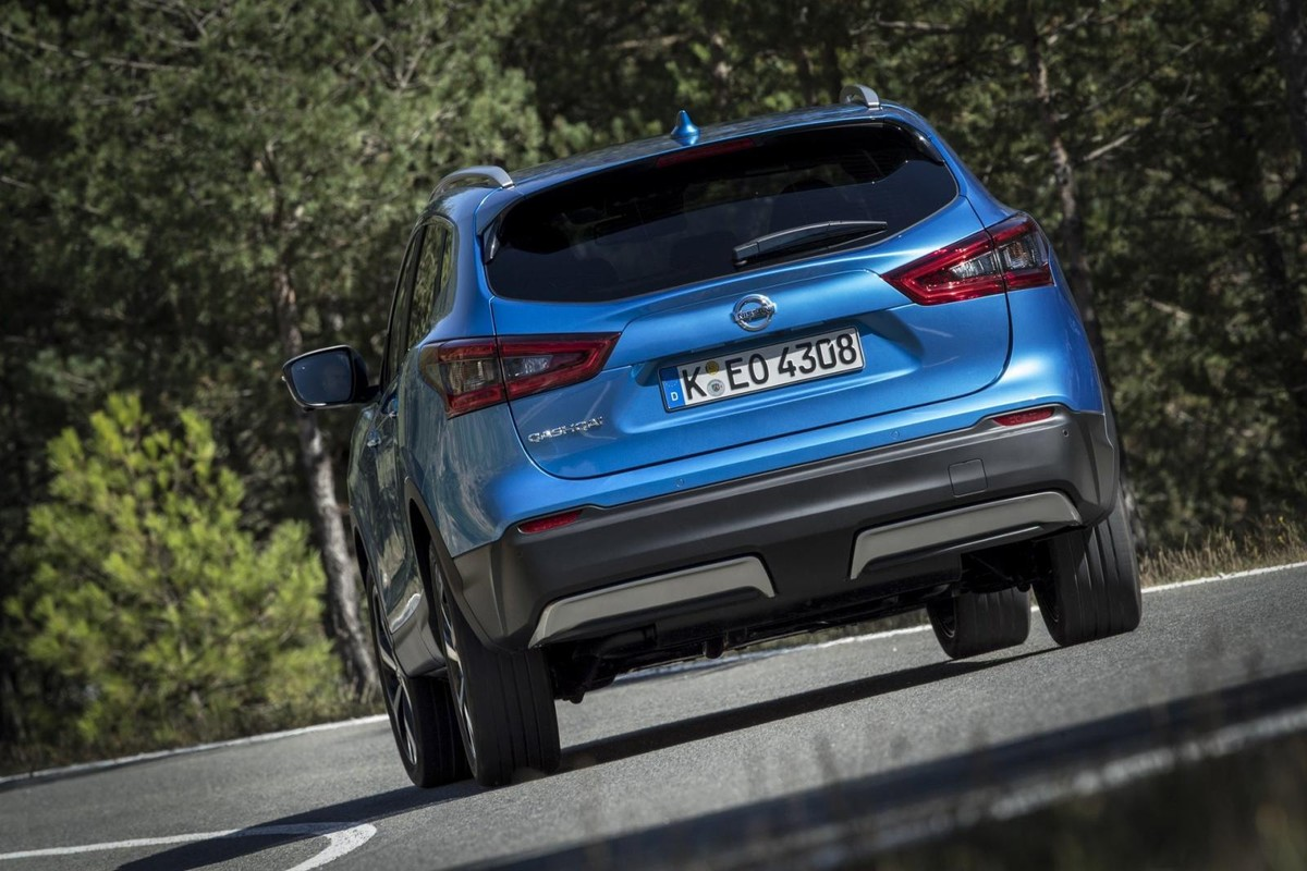 nissan qashqai updated for 2019