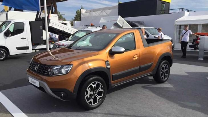 Romturingia Dacia Duster Pick Up Prototipi on Isuzu D Max