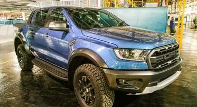Building the Ford Ranger Raptor