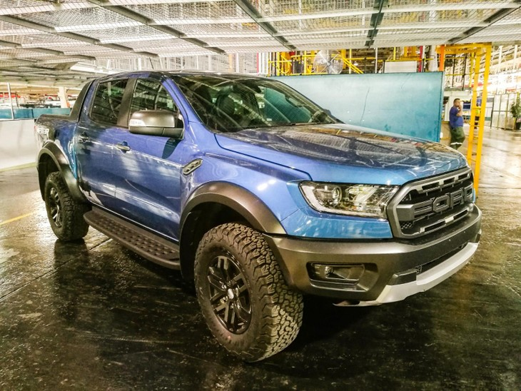 Build A Ford >> Building The Ford Ranger Raptor Cars Co Za