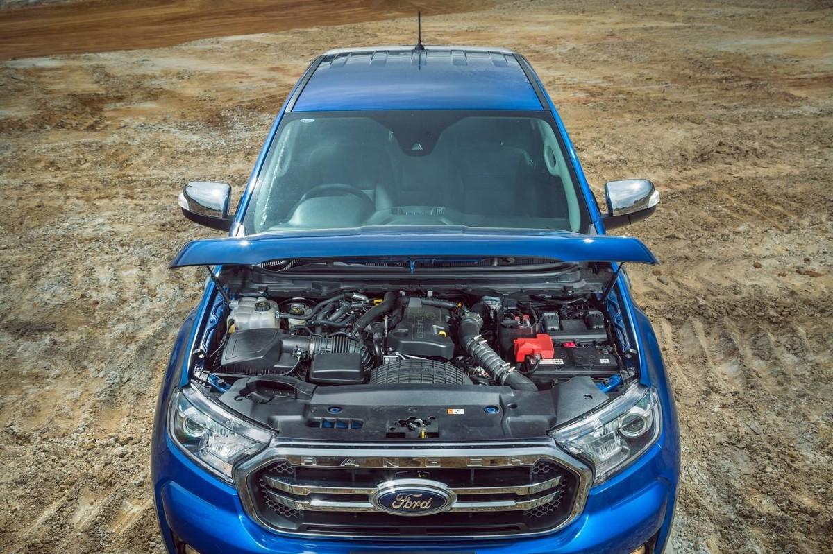 Facelifted Ford Ranger 2 0 bi-turbo (2019) International Launch