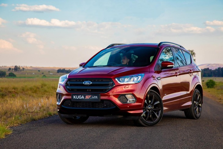 ford kuga st line in sa 2018 specs price. Black Bedroom Furniture Sets. Home Design Ideas