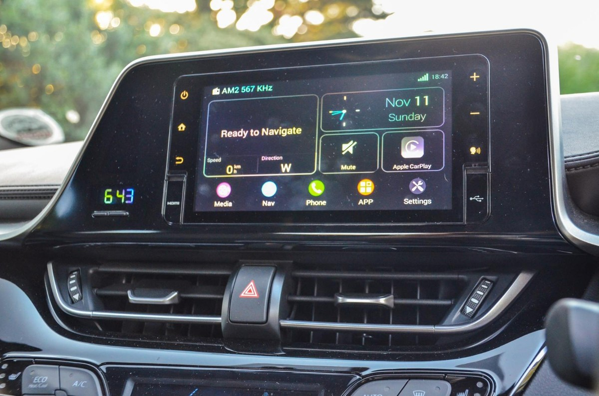 toyota chr 2018 navigation system