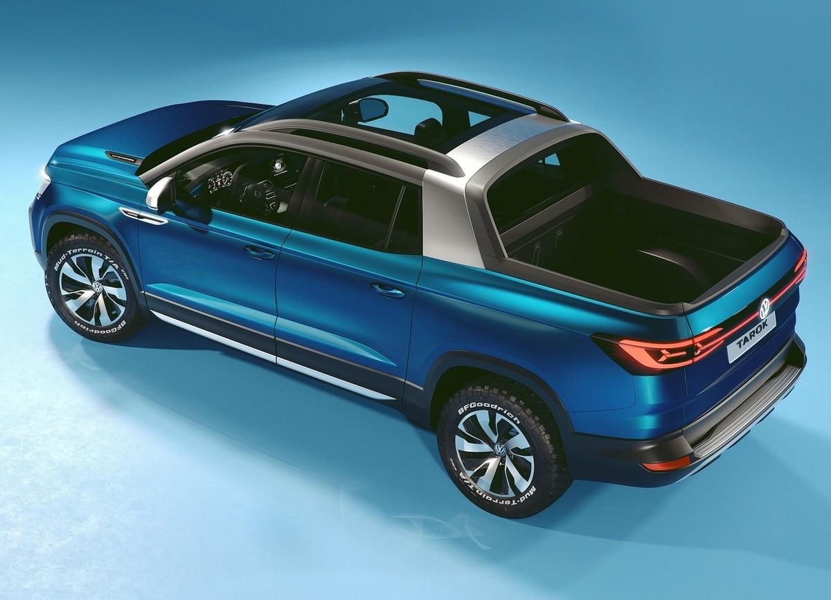 Volkswagen Tarok Concept Previews Baby Amarok Cars Co Za