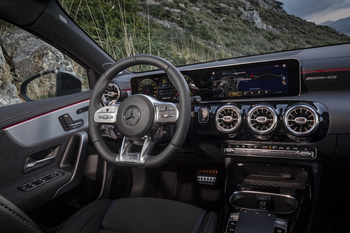 Mercedes Amg A35 4matic 2019 International Launch Drive Cars Co Za
