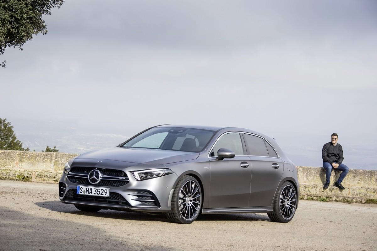 Mercedes-AMG A35 4Matic (2019) International Launch Drive ...