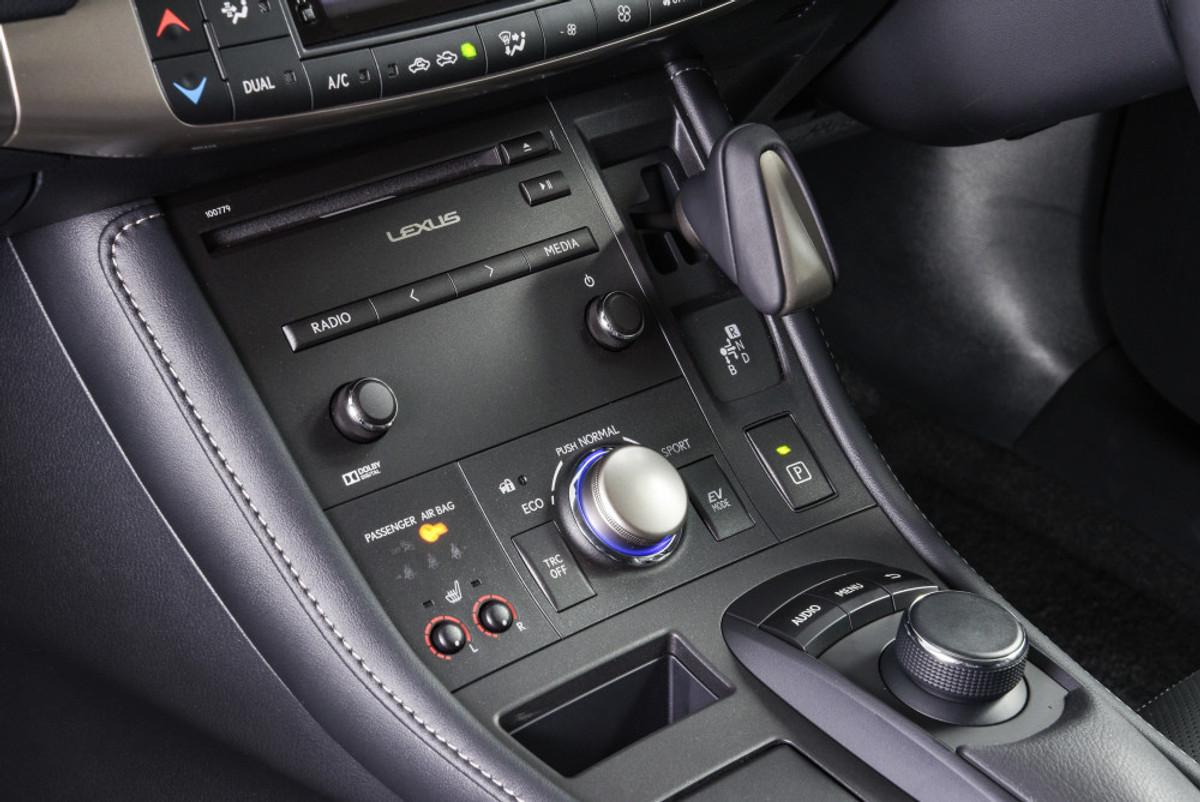 ct200h interior dimensions