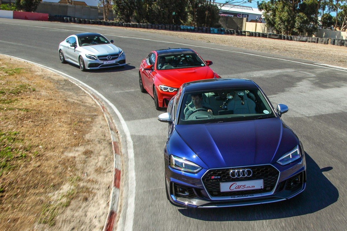 Audi RS5 vs BMW M4 Competition Pack vs Mercedes-AMG C63 S ...