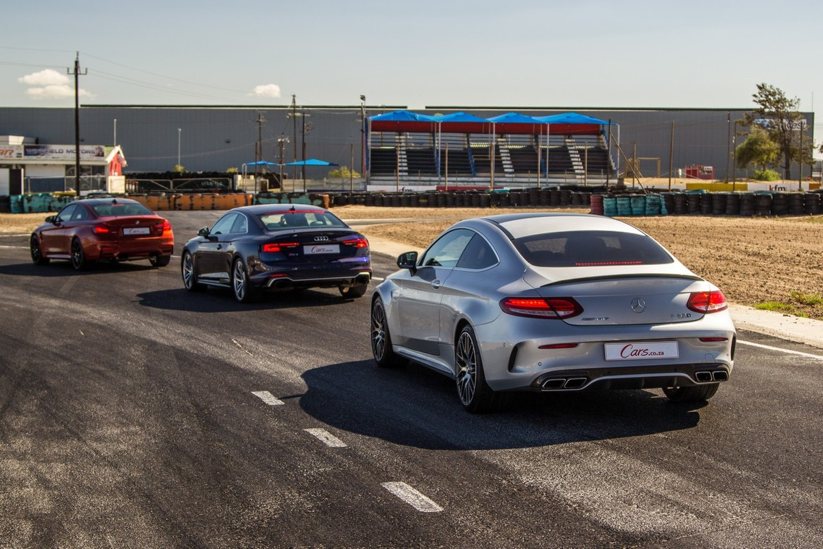 Audi Rs5 Vs Bmw M4 Competition Pack Vs Mercedes Amg C63 S Coupe W