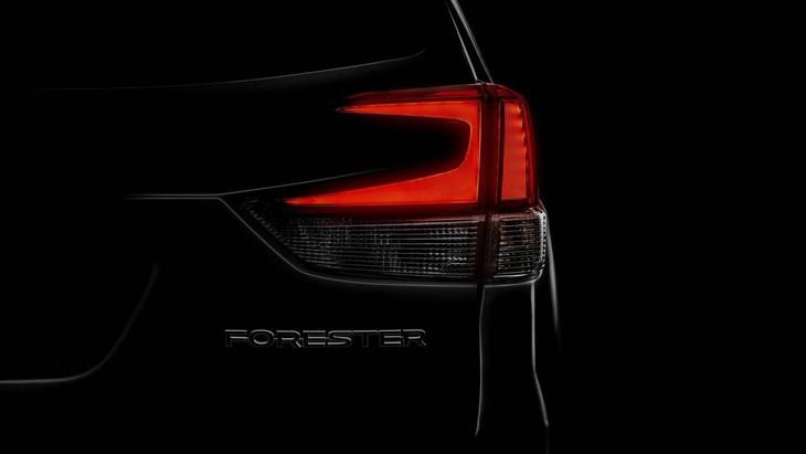 2019 Subaru Forester Teaser1