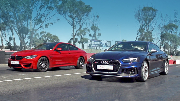 Drag Race Audi Rs5 Vs Bmw M4 Competition Pack Cars Co Za